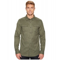 columbia-surplus-green-heather-pilsner-lodge-long-sleeve-shirt