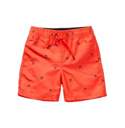 PETROL INDUSTRIES SUMMERY SWIMMING SHORTS FIERY CORAL (B-1010-SWS951-3099)