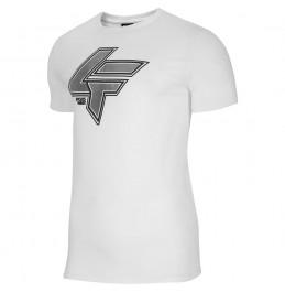 4F MEN'S WHITE T-SHIRT (H4L21-TSM010-11S)