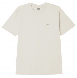 OBEY  LOTUS SPIDER CLASSIC T-SHIRT CREAM (165262719)