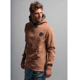 VINYL ART CLOTHING HOODIE WITH TAPE DETAIL 61398