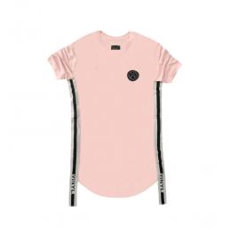 VINYL ART CLOTHING SIDED STRIPE T-SHIRT 65322