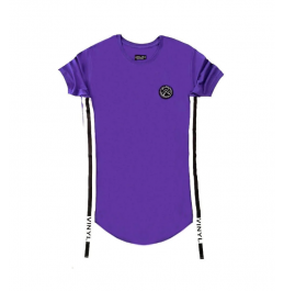 VINYL ART CLOTHING SIDED STRIPE T-SHIRT ΜΩΒ 65322