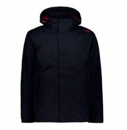 CMP 3 IN 1 ZIP HOOD JACKET (39Z0407D-N950) NAVY