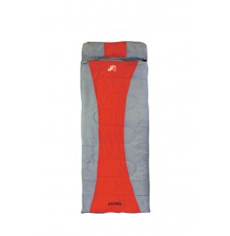 GRASSHOPPERS ASTRO 300 SLEEPING BAG GREY/RED (12353)
