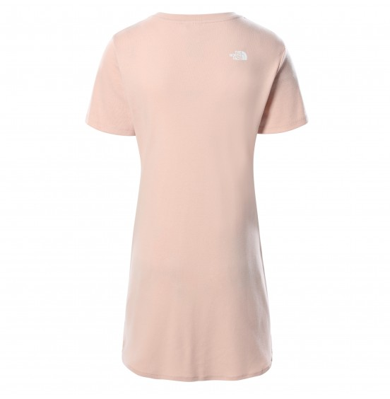 THE NORTH FACE W SIMPLE DM DRESS EVENING SAND PINK (NF0A493TUBF)