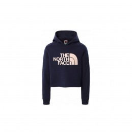 THE NORTH FACE GIRL'S DREW PEAK CROPPED PULLOVER HOODIE TNF NAVY (NF0A558SL4U1) ΠΑΙΔΙΚΟ ΦΟΥΤΕΡ