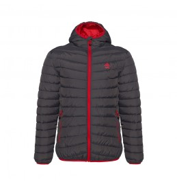 BERG ASTRY DOWN LOOK JACKET GREY/RED 80134
