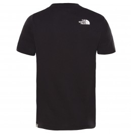THE NORTH FACE YOUTH EASY TEE NEW TNF BLACK/ TNF WHITE (NF00A3P7KY4)