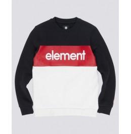 ELEMENT PRIMO DIVISION CREWNECK BOY FLINT BLACK (Q2CRA2ELF9)