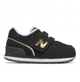 NEW BALANCE (IV574MTK) INFANT LIFESTYLE GIRL'S SNEAKER BLACK