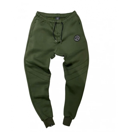 VINYL ART CLOTHING BASIC PANTS KHAKI 07621